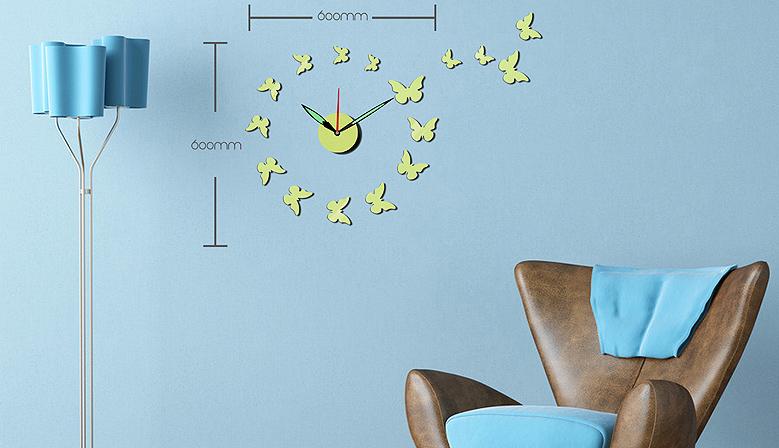 Zegary DIY do biura i sypialni